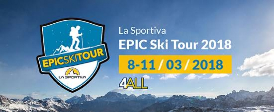 """EPIC SKI TOUR"" READY TO GO  NEVE E CAMPIONI ALL'EVENTO ""4ALL"""