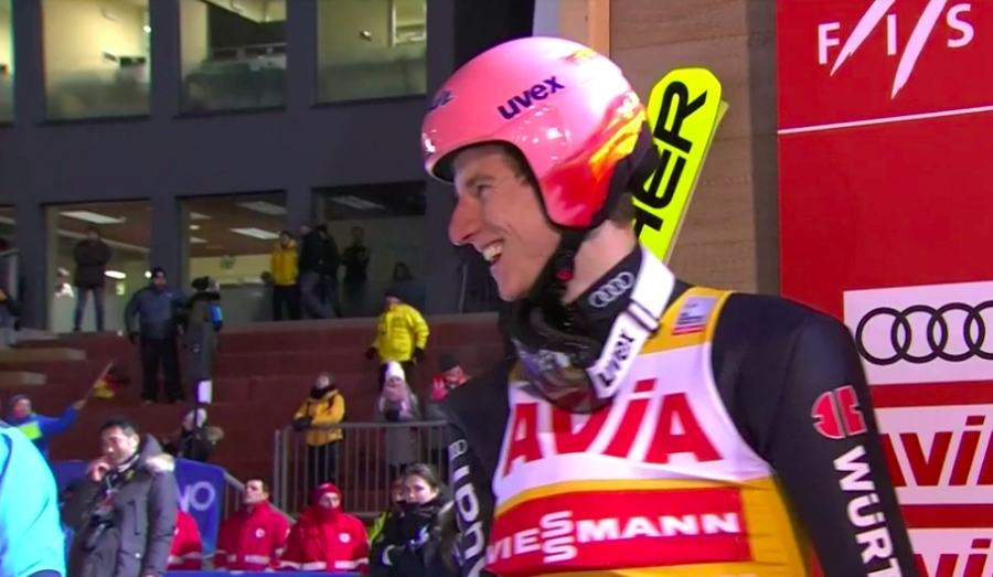 Salto - In Val di Fiemme vince ancora Karl Geiger