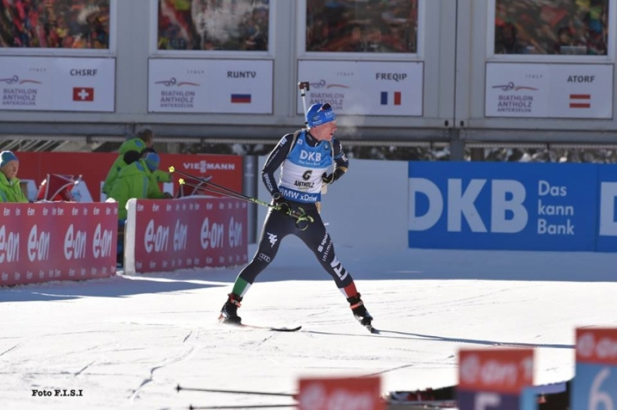 Biathlon: Schempp ancora Re ad Anterselva. 12. Hofer 16. De Lorenzi 19. Windisch