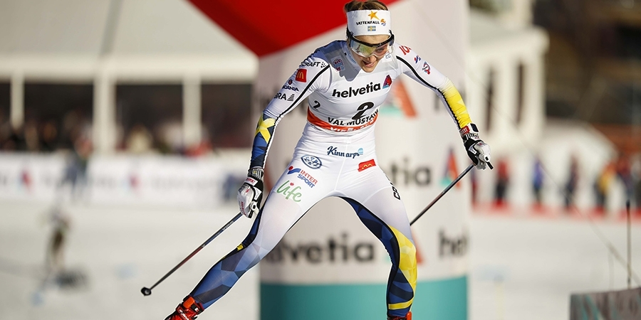 Stina Nilsson domina la sprint di Davos. 15^ Laurent